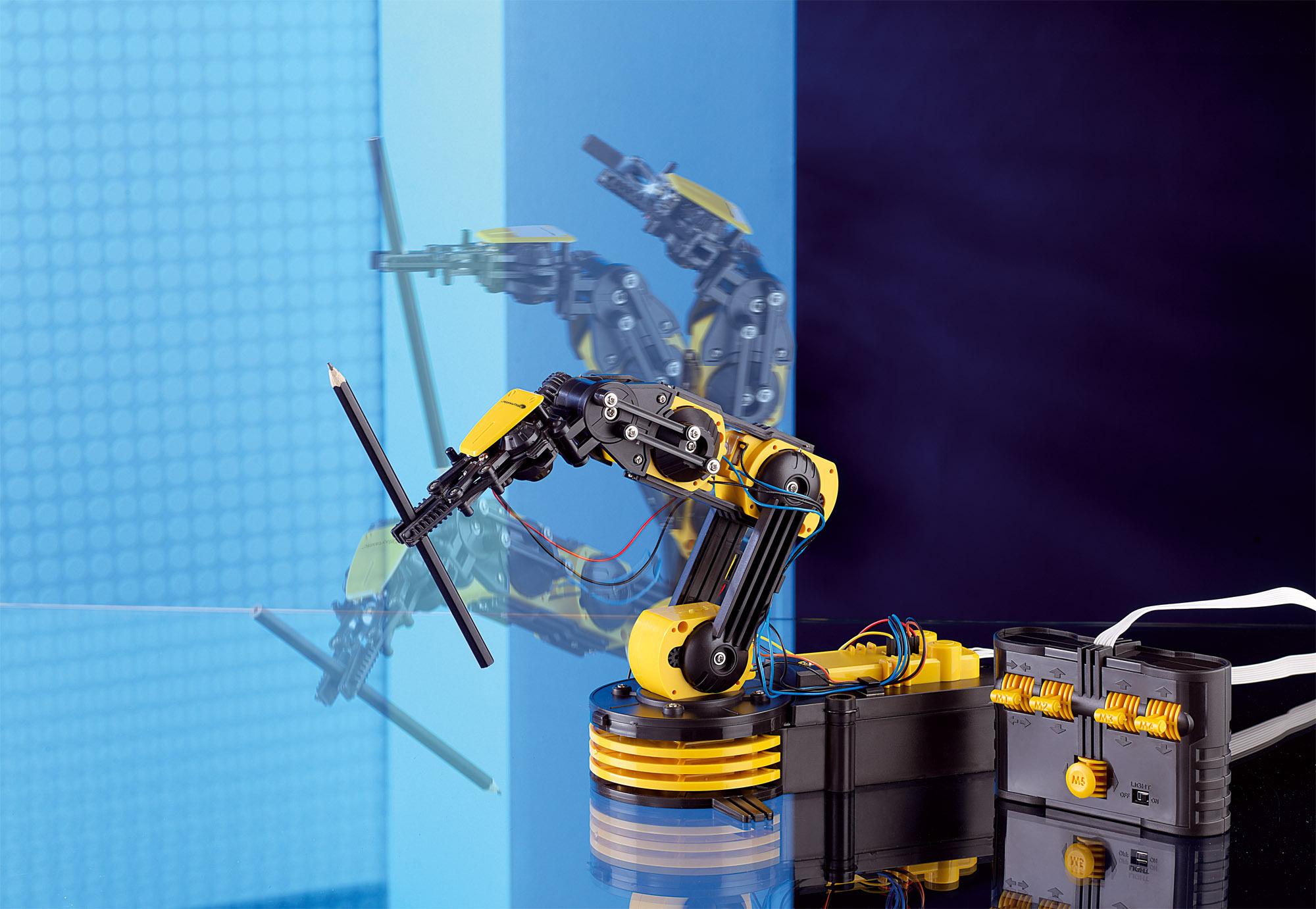 Playtastic Roboterarm Roboterarm selber Bauen Baukasten Roboter-Arm