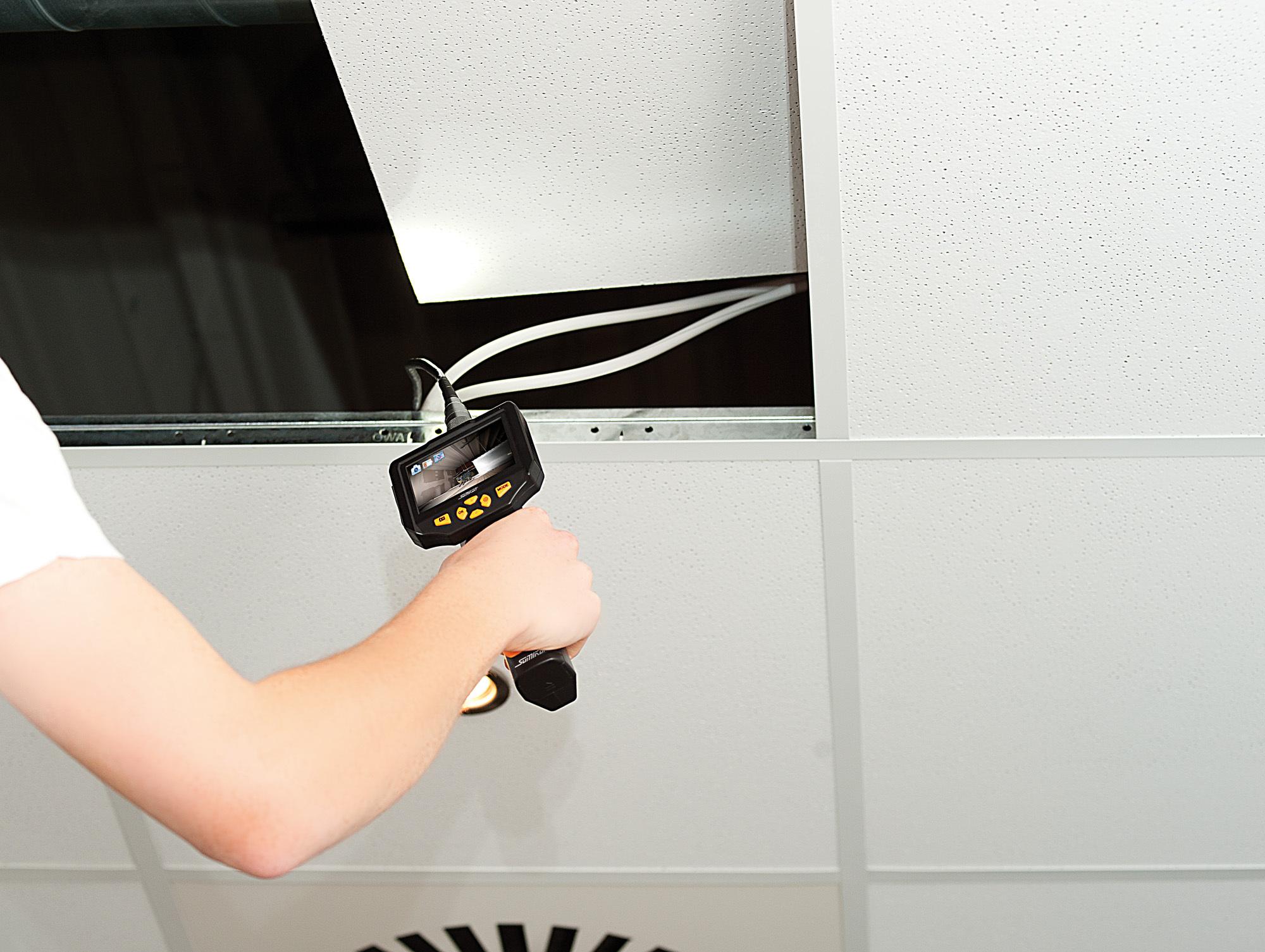 somikon hd endoskop kamera 8 2 mm mit monitor aufnahme. Black Bedroom Furniture Sets. Home Design Ideas