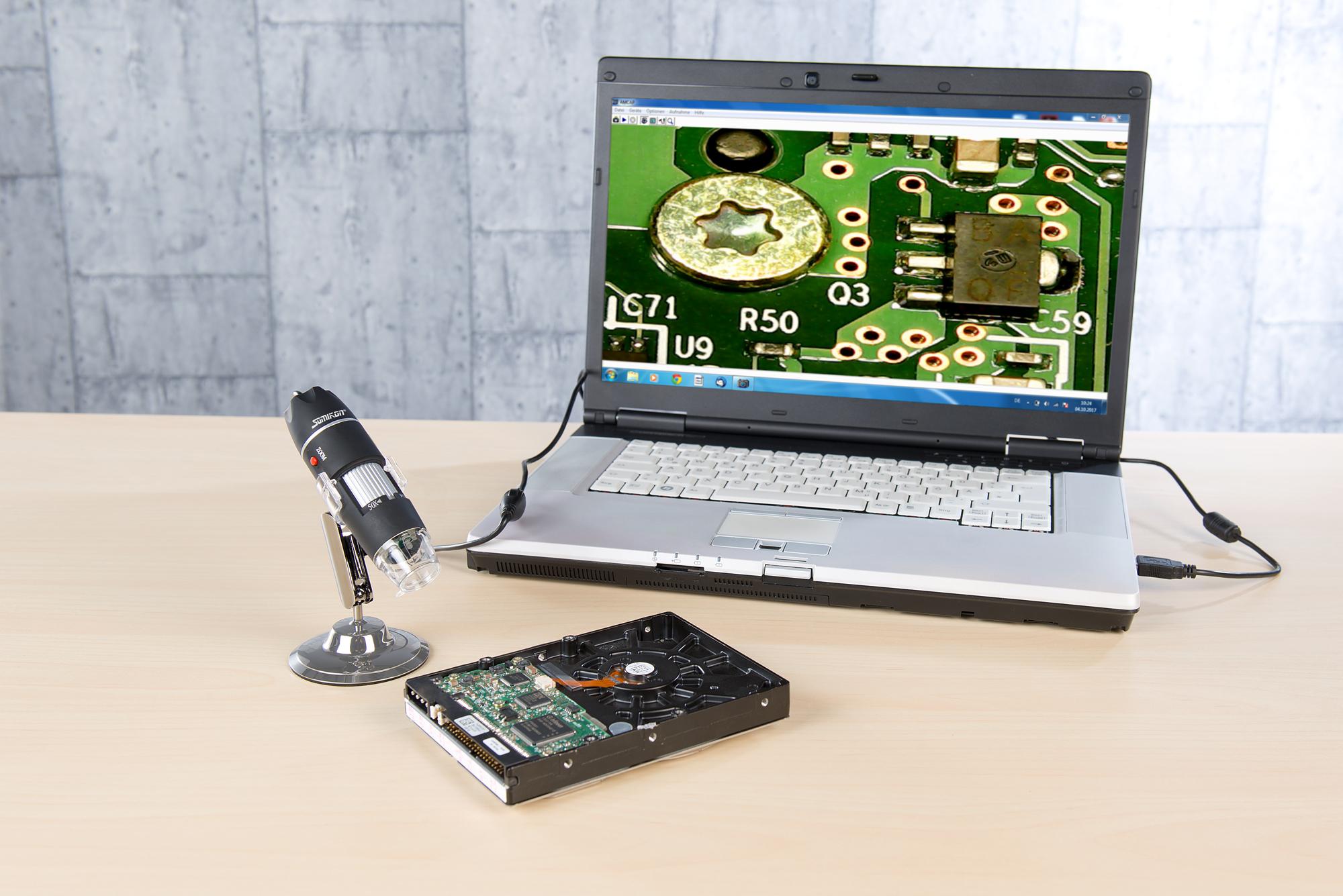 Digitales endoskop mikroskopkamera handmikroskop usb kamera