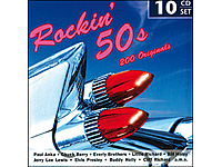 Rockin' 50s - 200 Originals (10 CDs) (Bild 1)
