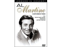Al Martino - A Gentleman of Music, Video-DVD mit 15 fantastischen Hits (Bild 1)