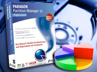 PARAGON Partition Manager 11 Professional (Bild 1)