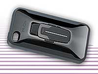 Ultradünnes Bluetooth-Headset MoGo Talk XD in Schutzcover für iPhone 4 (Bild 2)