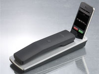 Callstel Dockingstation mit Bluetooth-Telefonhörer für iPhone 3GS/4/4S (Bild 1)