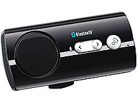 "Callstel Bluetooth Handy-Freisprecher ""Black Jewel"" mit Text-to-Speech (Bild 1)"