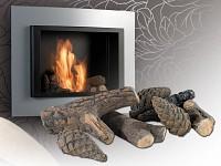 carlo milano feuerdekoration ste tannenzapfen f r bio ethanol fen. Black Bedroom Furniture Sets. Home Design Ideas