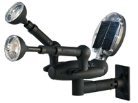 Solar LED Garten- & Sicherheits-Spotlight, 3in1-Sensor (refurbished) (Bild 2)
