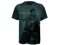 T-Shirt Robbie Williams - Big Print Bike, grau, Größe XL (Bild 1)