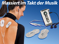 "newgen medicals Music Massage-Gerät ""Feel the Music"" (Bild 1)"