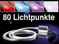 led glasfaser optik sternenhimmel multi color mit farbwechlser. Black Bedroom Furniture Sets. Home Design Ideas