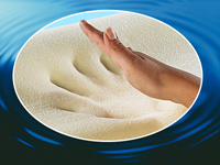 newgen medicals Wellness-Beinkissen aus thermoaktivem Memory-Foam (Bild 3)