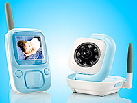 "Freetec Digitales Video-Babyphone VBP-240, 2,4"" Color & Nachtsicht (Bild 1)"