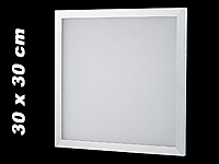 Lunartec Deko-LED-Panel 30 x 30 cm warmweiß (Bild 1)