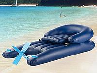 infactory aufblasbare tretboot luftmatratze comfort. Black Bedroom Furniture Sets. Home Design Ideas