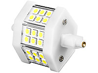 Luminea LED-SMD-Lampe mit 18 High-Power-LEDs R7S 78mm, warmweiß (Bild 1)