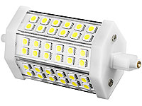 Luminea LED-SMD-Lampe mit 36 High-Power-LEDs R7S 118mm, warmweiß (Bild 1)