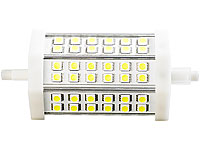Luminea LED-SMD-Lampe mit 36 High-Power-LEDs R7S 118mm, warmweiß (Bild 2)