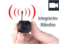 "VisorTech Micro-Cam ""Profi"" m. Funk 2.4GHz Color (refurbished) (Bild 1)"