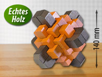 Playtastic Geduldspiel aus Holz - Magic Criss-Cross (Bild 1)