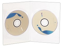 Doppel DVD Slim (7mm) Box 50er-Set transparent (Bild 1)