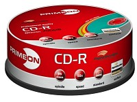 PRIMEON CD-R 700MB lightscribe (LS 1.2), 25er Spindel, color mix (Bild 2)