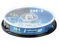 Intenso DVD+R 8,5GB 8x Double Layer, 10er-Spindel (Bild 1)