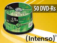 Intenso DVD-R 4.7GB 16x, 50er-Spindel (Bild 2)