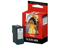 Original LEXMARK Tintenpatrone 18C0031E (No.31), photo-color (Bild 1)