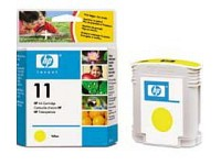 Original HP Tintenpatrone C4838AE (No.11), yellow (Bild 1)