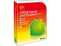 Microsoft Office 2010 Home & Student - Retail - 3 PCs (Bild 1)