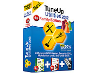 TuneUp Utilities 2012 Family + AVG Internet Security (je 4 Lizenzen) (Bild 1)