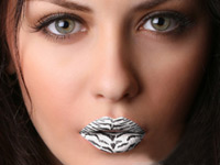 "Crazy Lips Lippen Tattoo ""Tiger white"", 2-teilig (Bild 1)"