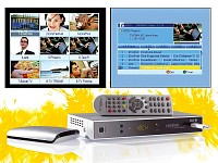 auvisio Digitaler Satelliten-Receiver mit HDMI & USB-Recorder bis 1TB (Bild 1)