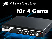 VisorTech Überwachungs-Recorde DVR-6004 H.264 für 4 Cams (refurbished) (Bild 1)