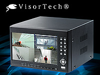 VisorTech Digitaler Überwachungs-Recorder DVR-8004 H.264 mit Monitor (Bild 1)