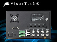 Digitaler Überwachungs-Recorder DVR-8004 H.26 m. Monitor (refurbished) (Bild 2)