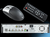 Digitaler Überwachungs-Recorder DVR-4004 für 4 Kameras (refurbished) (Bild 2)