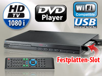 auvisio Full-HD-Medienzentrale HVD-1080.WiFi (refurbished) (Bild 1)