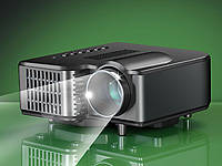 SceneLights Clip-LED-Beamer 20 Lumen LB-618 mit Media-Player & AV-In (Bild 2)
