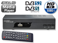 auvisio Digitaler HD-Sat-Receiver DSR-395U.mini mit Full HD-Player (Bild 1)