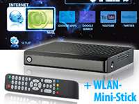 HDMI-Multimedia-&Internet-TV-Box Android2.2/WLAN (refurbished) (Bild 1)