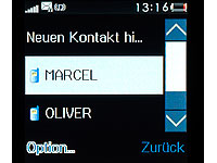 "simvalley MOBILE Handy-Uhr ""PW-315.touch"" Uhrenhandy (Bild 8)"