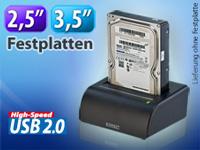 USB-Docking-Station für 2,5