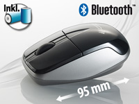 GeneralKeys Optische Bluetooth Mini-Maus 1600 dpi (Bild 1)
