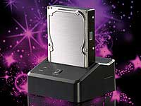 "Xystec USB3.0-Dockingstation ""DSU-3200 Duo"" für 3,5""- & 2,5""-SATA-HDDs (Bild 1)"