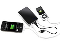 revolt Powerbank mit 6600 mAh für iPod, iPhone, Handy, Player (Bild 1)