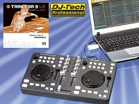 DJ-Tech MP3-DJ-Mischpult mit virtuellen Turntables für PC & Notebook (Bild 1)