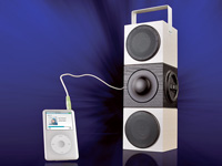 auvisio Portable Aktiv-Soundbox mit USB- & SD-Card-Player & Power-Akku (Bild 2)