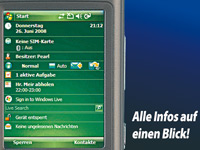 simvalley MOBILE XP-45 mit Windows Mobile 6.1 (refurbished) (Bild 5)