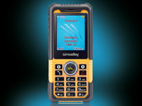 simvalley MOBILE Action- & Outdoor-Handy XT-710 V.2 - VERTRAGSFREI (Bild 1)